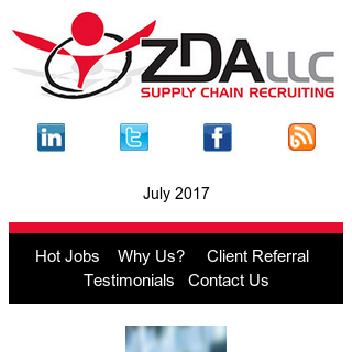 Latest ZDA Hot Job: PLC Manufacturing Engineer